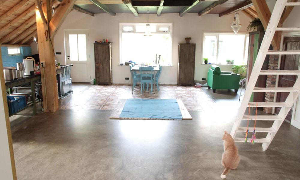 Beton vloeren - Aart van de Pol